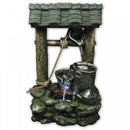 3-Bucket-Wishing-Well
