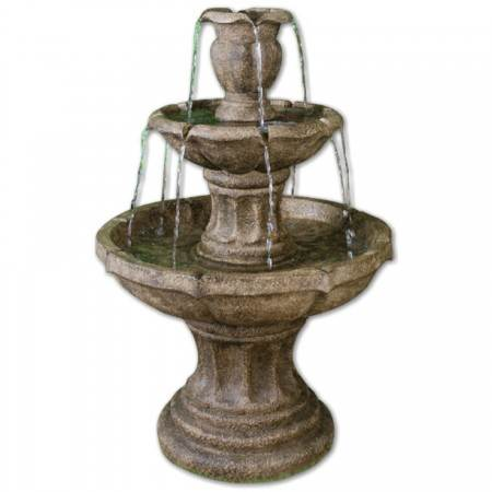3 Tier Classic Stone Fountain