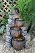 4 Pots on Blue Slate