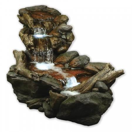 Large Boulder River Falls