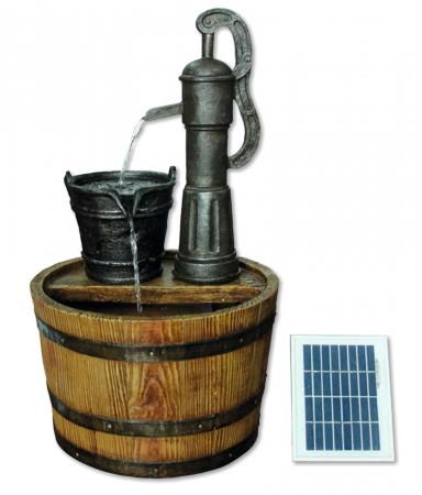 Solar Barrel with Pump