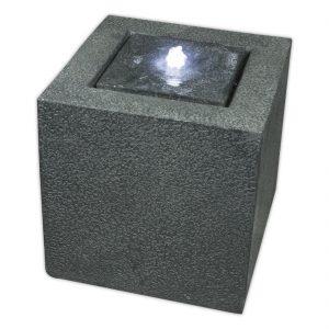 Grey Granite Cube