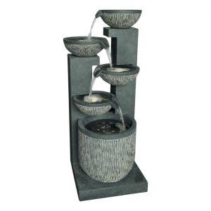 5 Bowl Textured Granite