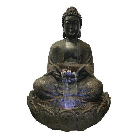 Brown Sitting Buddha