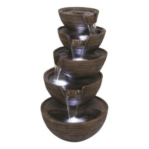Stacked Brown Bowls