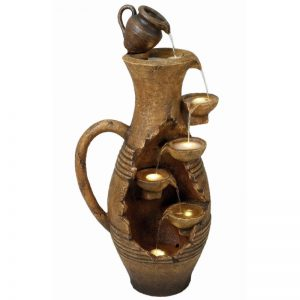 Large Open Handle Urn
