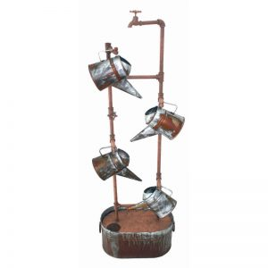 Metal Tap & Watering Cans